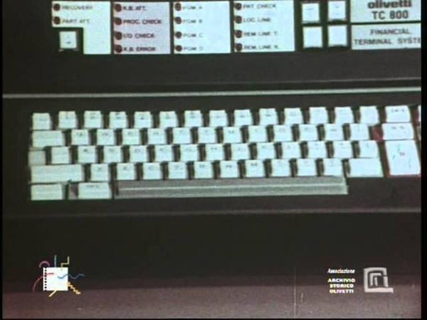 Olivetti TC 800 financial terminal system