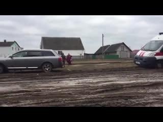 Деревня Яглевичи в Ивацевичском районе Брестской области Белоруссии.