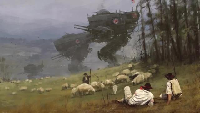 Visions of Jakub Rozalski / Steve Jablonsky - Ender's War · coub, коуб
