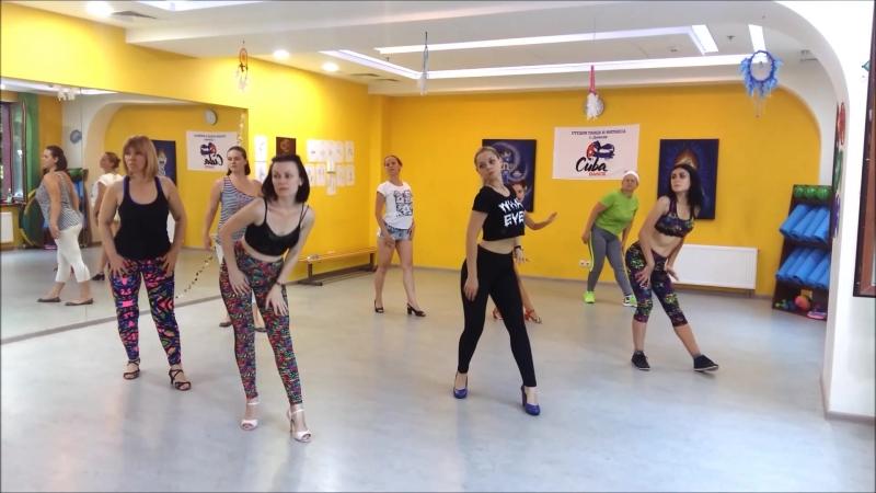 Открытый урок ЛАТИНА соло / cuba dance studio