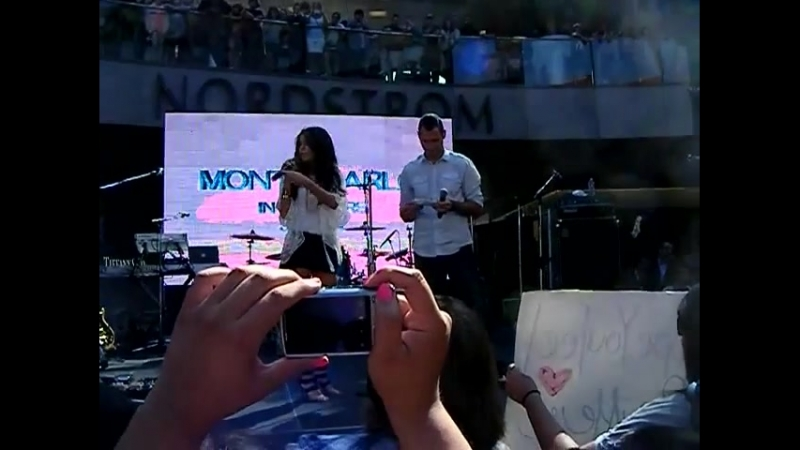QA Session Selena Gomez Monte Carlo Mall Tour