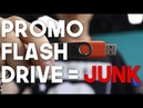 lost data on a promotional flash drive? it is not a surprise