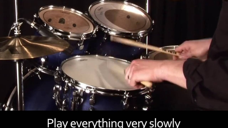 Learn Drums Lesson - Four Stroke Ruff
