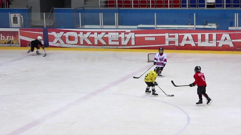 Детский хоккей   тренировка на льду 2011 г.р.   15 04 2018