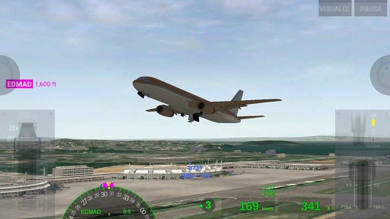 Полный полет: Рио-де-Жанейро - Монтевидео (Boeing 757)