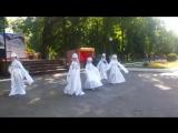 Лебеди в парке Белинского. ШКТ
