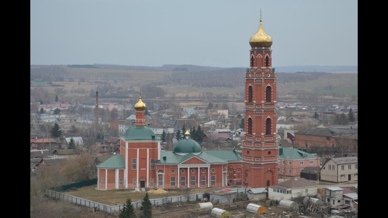 15 04 2018г Колокольня церкви Георгия Победоносца в Болхове