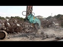 BEIYI Hydraulic Rotating Pulverizer concrete cutter