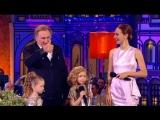 Мировая звезда Жерар Депардье на сцене