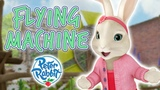 Peter Rabbit - Flying machine Cartoons for Kids