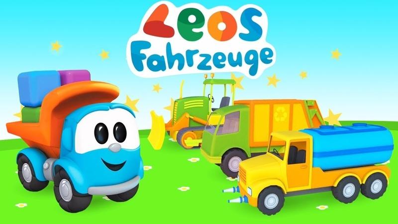 Leos Fahrzeuge Spiel Gameplay Wir bauen Spielzeugautos