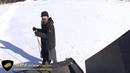 Нерпа аэровездеход на озере Ладожское. Аэролодка, аэробот.
