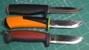 Новая версия ножа от Fiskars - первые впечатления, сравнение с Mora