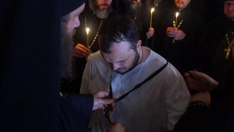 Монашеский постриг проректора КазПДС Сергея Забавнова в Раифском монастыре!