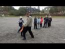 Маваше гери гедан лоукик серия из 3-х ударов в Кёкусинкай карате. Подготовка бойцы svk/oyama_mas