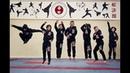 Наши в Пинске на боевых практиках по каратэ WKF в клубе «Эдельвейс»