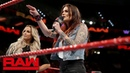 Video@alexablissdaily Alexa Bliss Mickie James think Trish Stratus Lita's time has passed Raw Oct 15 2018