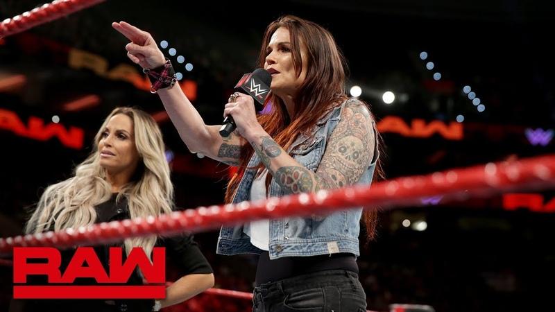 Video@alexablissdaily | Alexa Bliss Mickie James think Trish Stratus Lita's time has passed: Raw, Oct. 15, 2018