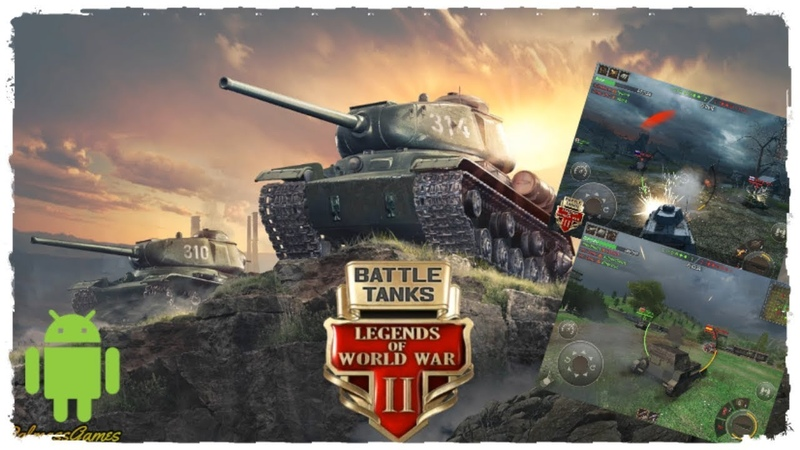 Battle Tanks: Legends of World War II обзор игры Android