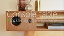 Console table with bluetooth speakers rocklerplywoodchallenge