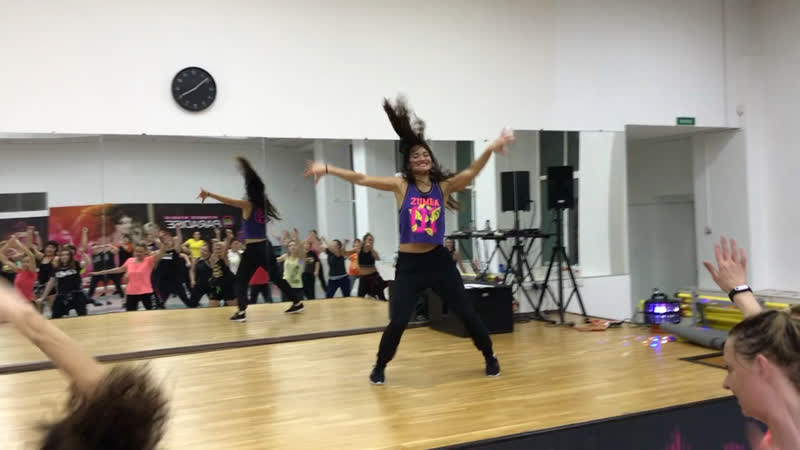 Zumba Move to Miami Надежда Смагулова