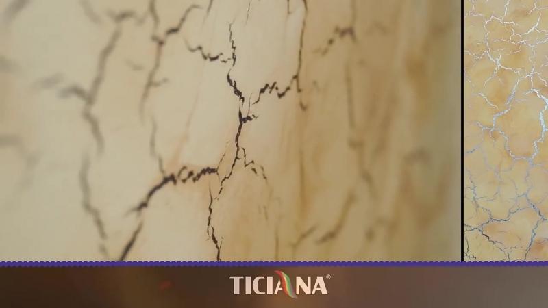 Грунтовка акриловая создающая эффект трещин ANTIK DEKOR TICIANA