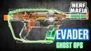 Нёрф бластер Сумерки обзор новинки Nerf Evader Ghost OPS review