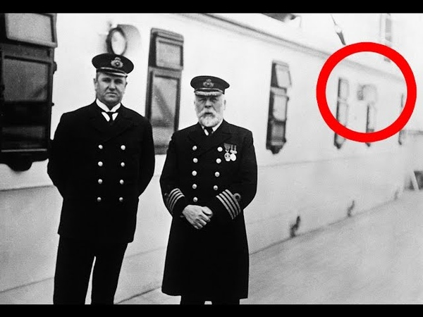 19 Creepy Pictures From The Titanic Before it Sank