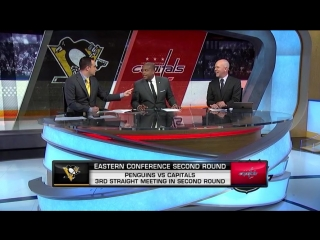 NHL Tonight: Pens-Caps Preview Apr 24, 2018
