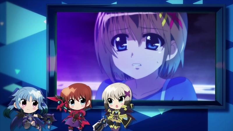 Mahou Shoujo Lyrical Nanoha: Reflection special 「Ou-sama-tachi no sakusen kaigi」 weekly movie 2