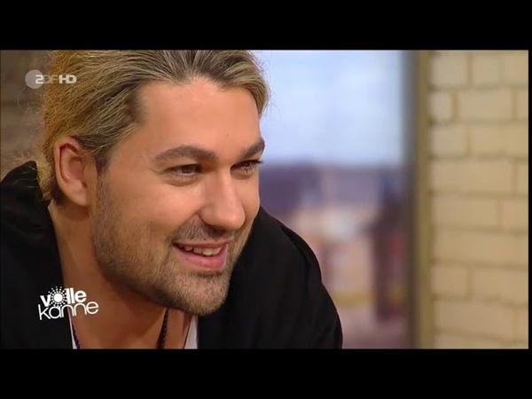 David Garrett at the ZDF tv magazine Volle Kanne (10-12-2018)