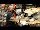 CALVIN RODGERS DRUMS,BRAND NEW VID #2,SABIAN BIG UGLY CLINIC,DRUMMER VIDEOS,GO