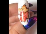 Мастер класс по созданию осеннего дизайна ногтей. 🍁