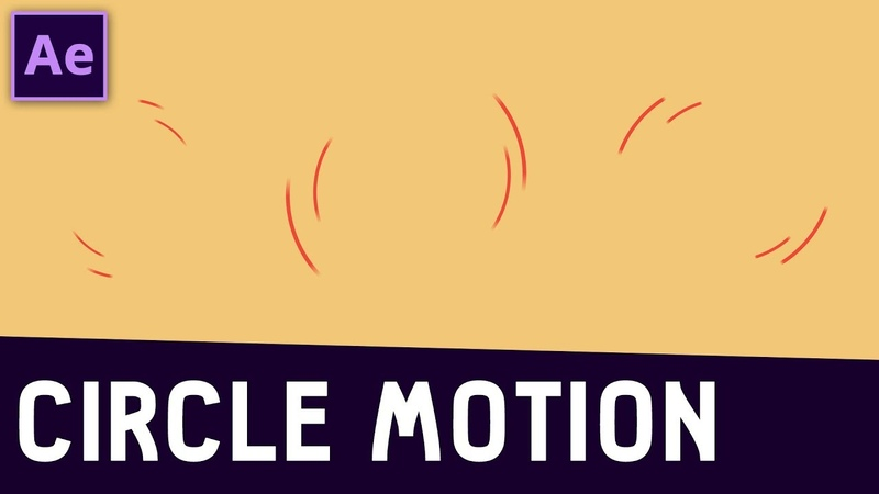 Tutorial 11 Circle Motion in After Effects ✔