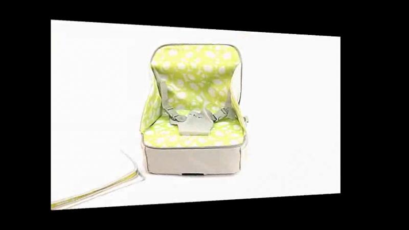 Стульчик сумка для кормления и путешествий высокий с сидушкой и пеленальной площадкой от 6 месяцев до 3 х лет