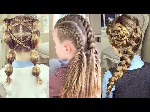 Hướng dẫn tết tóc đẹp và đơn giản - Tết tóc cho bé gái   Tết tóc xinh 2017 -Hairstyles