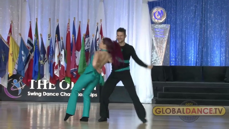 US OPEN 2017 SHOWCASE 4th PLACE - PHILIPPE AND FLORE BERNE [CANADA/FRANCE]