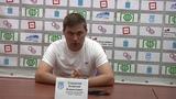 Алексей Стукалов и Александр Горбачев после победного для