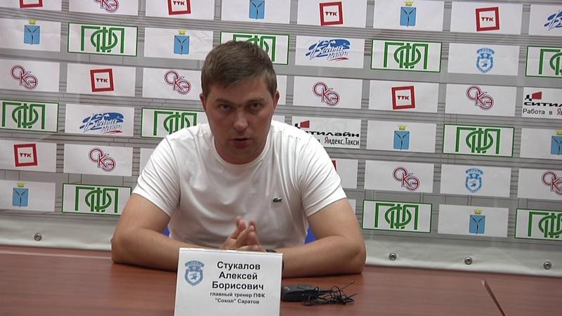 Алексей Стукалов и Александр Горбачев после победного для Сокола матча в Саратове