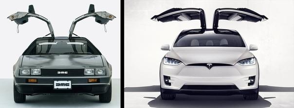 В приложении Tesla нашли отсылку к «Назад в будущее»