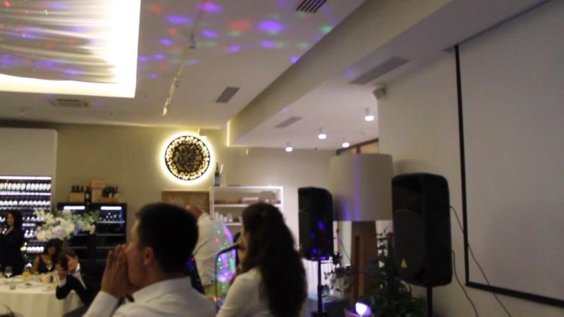 Свадьба прекрасной Жазиры, ресторан MZE