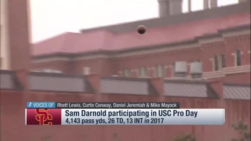 Хайлайты Сэма Дарнолда с Про-Дэй в университете USC