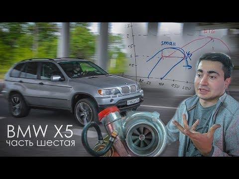 BMW X5 с ВАЗ мотором. Ставим БОЛЬШУЮ турбину и едем на ГОНКИ!