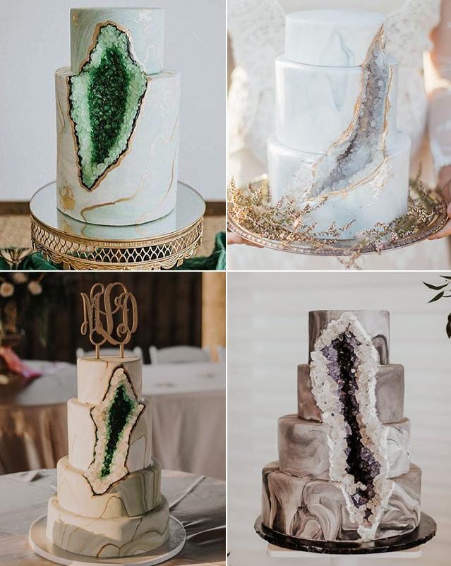 Красивые свадебные торты 2019-2020: фото, идеи, тренды