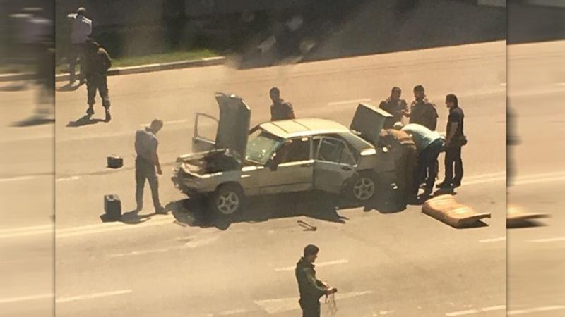 Чечня силовиков атаковали с ножами и бомбами