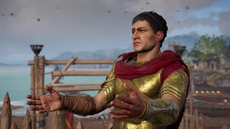Assassins Creed Odyssey Встреча с отцом (4)