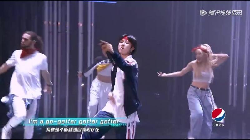 Minghao and hus gang《超自然》