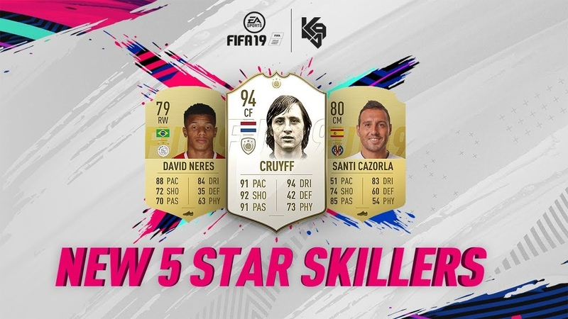 New 5 Star Skillers ft. Cruyff | FIFA 19 Ultimate Team