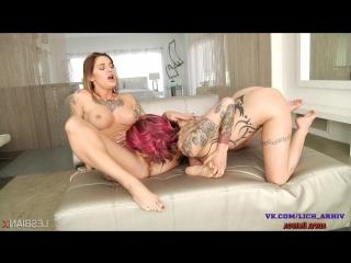 Anna Bell Peaks, Kleio Valentien - Super Squirting Lesbians [LesbianX.com]