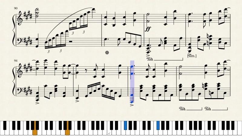 Overlord II Full ED Piano